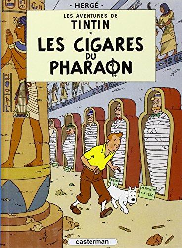 Les Aventures de Tintin, Tome 4 : Les cigares du Pharaon : Mini-album par Herge