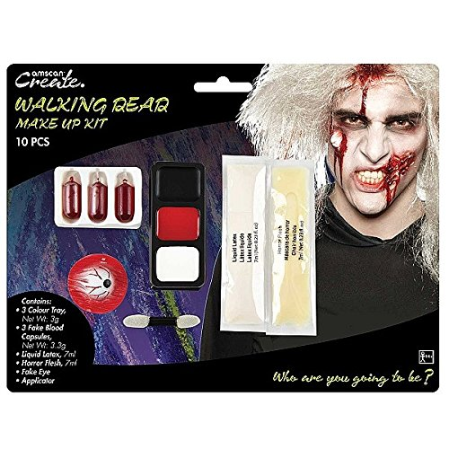 Amscan International 9901428 Walking Dead Zombie Make Up (Zombie Flesh Make Up)