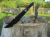 4er-Outdoor-Set-black Eagle Bowie Jungle Machete