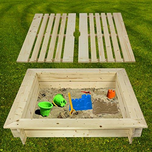 Impex Aroso Sandkasten mit Deckel von DEMA