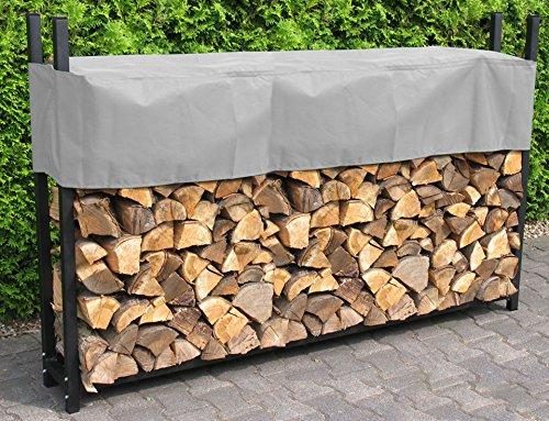 *Kaminholzregal XXL 238x35x120cm Kamin Holzofen Holzregal Regal – Stahl*