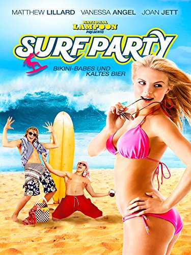 Surf Party: Bikini-Babes und kaltes Bier (Party-stadt In Kalifornien)