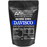 Arms Nutrition Natural Series Davisco Whey Protein Concentrate 2kg with Digestive Enzymes, Unflavoured (65+ Servings)