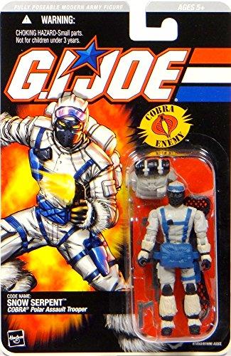 G.I. Joe Snow Schlange Vintage Stil Figur (Vintage Gi Joe Spielzeug)