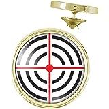 Pin's Doré 20mm Cible Croix Militaire Tireur Chasse Pins Bouton Epinglette