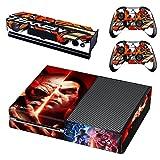 Tekken 7 Xbox One Skin Sticker Vinyl Aufkleber Schutzfolie zum Konsole & 2 Controller NEU