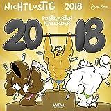 Nichtlustig Postkartenkalender 2018 - Joscha Sauer