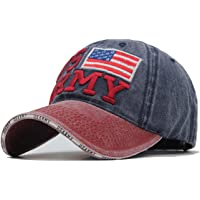 Handcuffs US Army Embroidered Summer Baseball Washed Cap