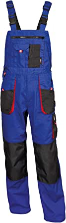 High Performance Men's Work Dungarees Durable Many Colours