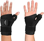 Thumb Brace - Thumb Spica Splint for Arthritis, Tendonitis and More. Fits Both Right Hand and Left Hand for Men and Women. Wr