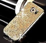 Etsue Glitzer Silikon Schutz HandyHülle für Samsung Galaxy S7 Edge TPU Hülle, Samsung Galaxy S7 Edge Kristall Glitzer