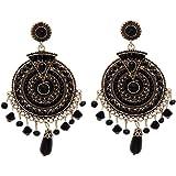 Shining Diva Fashion Latest Fancy Designer Antique Bohemian Earrings for Women and Girls