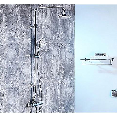 Doccia doccia termostato a doppia colonna