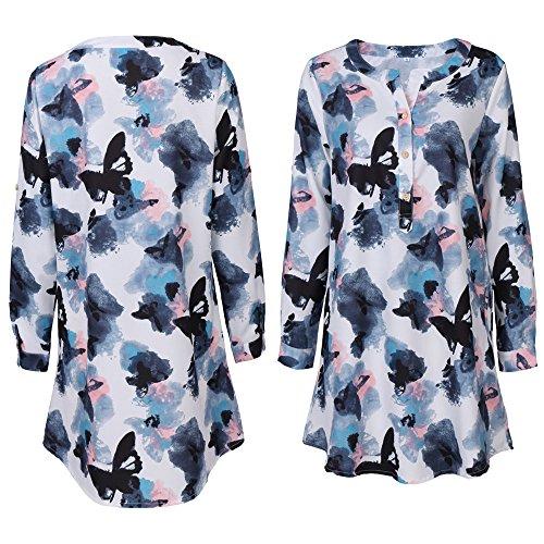 Xuanku Kleid Couture - Kleid Kurzärmlige Schwarze Und Weiße Schmetterling,Gedruckt,M Couture-kleid Schwarz