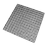 sourcingmap Carré en plastique noir 6pcs Séparation Poisson Betta Isolation Conseil Accessoires Réservoir