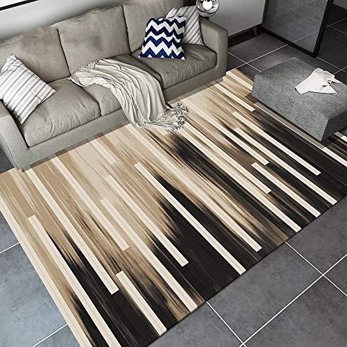 Teppich, flauschiger Teppich, Kinder-Bereich-Teppich-modernes einfaches Design für Wohnzimmer Schlafzimmer zum Entspannen Lesen Multi-Farben schneidet Teppich in verschiedenen Größen Teppich (120x160c -
