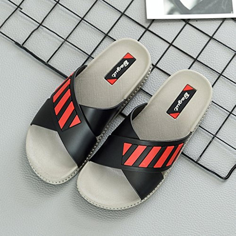 CXZS Hausschuhe Weibliche Sommer Paar Home Indoor und Outdoor Home Bad Bad Anti-Rutsch-Sandalen und Hausschuheö