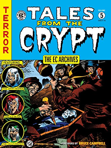 (W) Bill Gaines & Various (A) Jack Davis & Various (CA) Jack Davis Dark Horse Comics brings even more macabrely majestic Tales from the Crypt! This terrifying tome has been digitally recolored-using Marie Severin's original palette as a guide...
