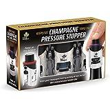 Bar Amigos® Triple Value Pack di 3 Champagne Pressure Stopper - Pressione Tappo Vino Pompetta Pompa Per il Vino Spumante Tapp