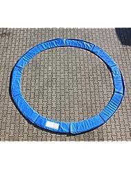 Selltex Protège-rebord de trampoline 305cm (3,05m) Couronne à ressorts 10pieds, bleu, pièce de rechange, avec rembourrage de grande qualité