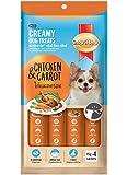 Creamy Dog Treats (Chicken & Carrot)