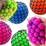Quetschball Squeezeball ca.60mm Ball Antistress Knetball Netz