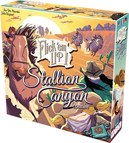 Pretzel Games F2Z0003 - Flick´em up - Stallion Canyon Erweiterung (Cowgirl Schickes Stiefel)