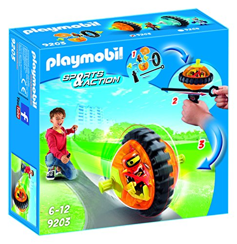 Playmobil- Toupie, 9203, Orange