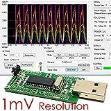 Piccircuit ICP12–Usbstick [PIC18F2553Board con USB, PC oscilloscopio Daq, registratore dati]
