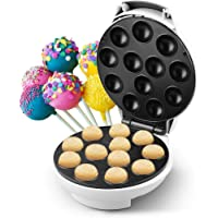DSP Appareil à Cake Pops Corps argenté Machine à pâtisseries pour biscuits à usage ménager permettant de faire cuire 12…