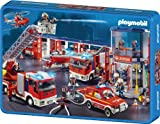 Schmidt Spiele 55581 - Playmobil, Feuerwehr, 100 Teile Puzzle, in Metalldose