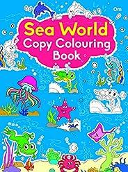 Copy Colouring Book Sea Animals
