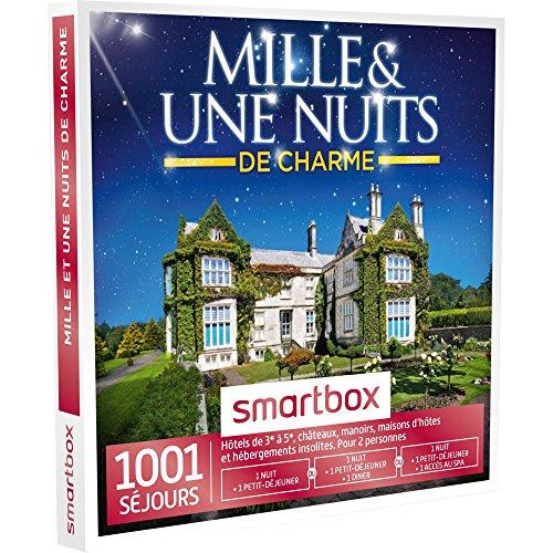 Preisvergleich Produktbild Smartbox – Geschenkbox – 1001 Nächte von Charme – 1001 Aufenthalte: Hotels von 3 * zu 5 *,  Häuser D 'Hôtes,  Unterkünfte ungewöhnliche,  Burgen