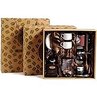 FYHKF Vakuum-Kaffeebereiter Siphon Kaffeemaschine Set Coffee Siphon Technia Siphon Topf Geschenkbox Kaffeemaschine…