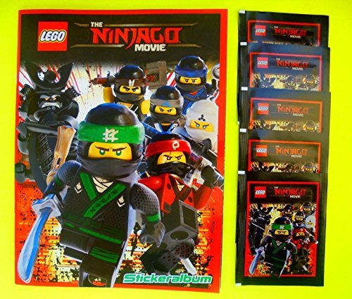 Blue Ocean - The LEGO Ninjago Movie 2017 Sammelalbum + 5 Booster - Lego Ninjago Sammelalbum