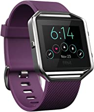 Fitbit Blaze Smart Fitness Watch, Plum