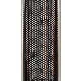Stehtisch mit Infrarot-Heizstrahler - Tischplatte in Metalloptik - zweistufig regelbar - 800/1600 W - 80 cm Tischplatte und Edelstahl Fußreling - Terrassenstrahler mit Infrarotheizung - Stehtisch mit Infrarotheizung - inkl. Speditionsversand (bitte Telefon-Nr. in Bestellung angeben) - 5
