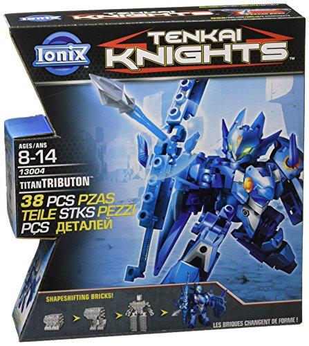 tenkai-knights-titan-pack-de-alrededor-de-40-piezas-modelos-surtidos-titan-valorn-verde-azul-tributo