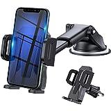 Uniwersalny uchwyt samochodowy na telefon, teleskopowy i uchwyt na telefon komórkowy na deskę rozdzielczą do szyby samochodow