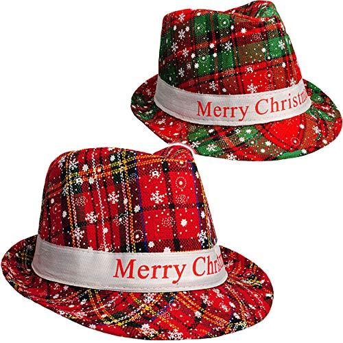 Unbekannt 2 Stück _ Weihnachtshüte - Merry Christmas -