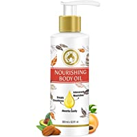Mom & World Mother Nourishing Body Oil - 200ml - Complete Moisturising, 100% Pure Oils - No Mineral Oil