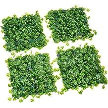 Catral 43040002 - Losetas de jardin vertical Nius, 50 x 50 cm, Pack de 4, Verde
