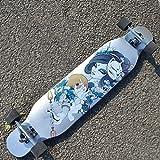 SMBYLL Skateboard/Professional Board Almighty Longboard/Sports Board Scooter a Quattro Ruote/Skateboard/Principiante Skateboard (Colore : B)