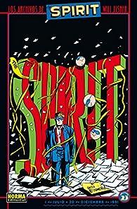 Los archivos Spirit 23 par Will Eisner