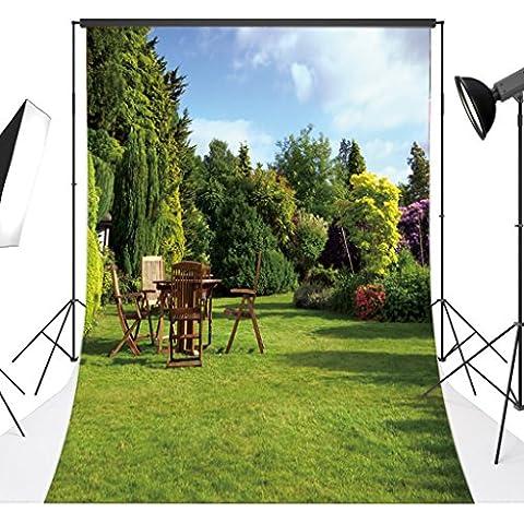 love-baby sottile in vinile Studio fotografico sfondo giardino foto Prop Sfondo 3X 5M hy09