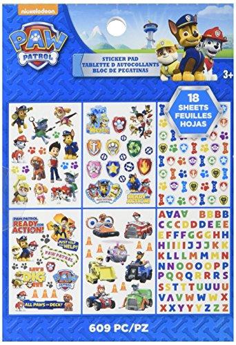 Ek Success Paw Patrol Sticker Pad, d'autres, Multicolore