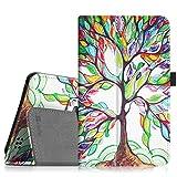 Fintie Hülle für Alldaymall 7 Zoll Tablet - Premium Kunstleder Schutzhülle Tasche Folio Cover mit Stylus-Halterung für Alldaymall A88T Pro 7 Zoll FHD Android Tablet (Liebesbaum)