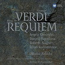 Verdi - Requiem / Gheorghiu · Barcellona · Alagna · Konstantinov · Berlin Phil · Abbado