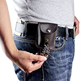 Best Hunting Slingshots - Slingshot Accessories Automatic Loading Genuine Leather Ammo Pouch Review