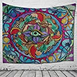 KEEN ZTQ Tapiz Mandala Estampado Pared Colgantes para Salón Dormitorio, 11, L:200 * 150 cm